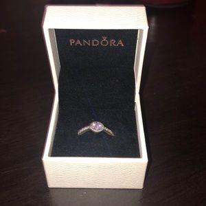 Pandora Promise Ring, Size 7